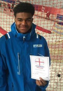 Karl Snowsport England Certificate