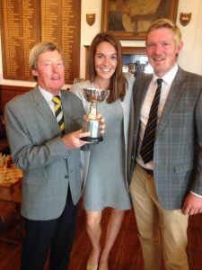 David & Michael Hedges with Cara Robinson