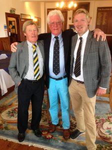 David & Michael with John Munro