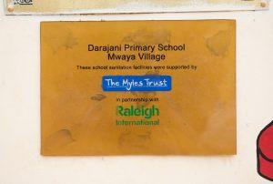 Myles Trust Plaque
